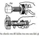 Cách kiểm tra kích thước sau gia công bằng Pin (Calip, dưỡng)(チェック)