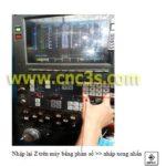 Vận hành máy Mazak trên chương trình Mazatrol (Phần 1)